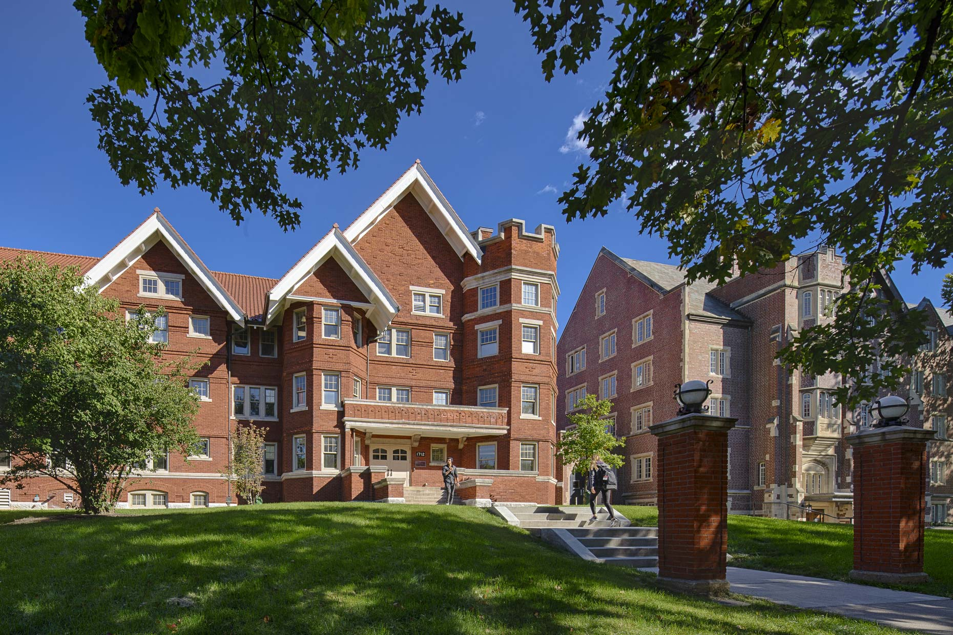 OSU Oxley Hall by Acock Associates photographed by Lauren K Davis based in Columbus, Ohio