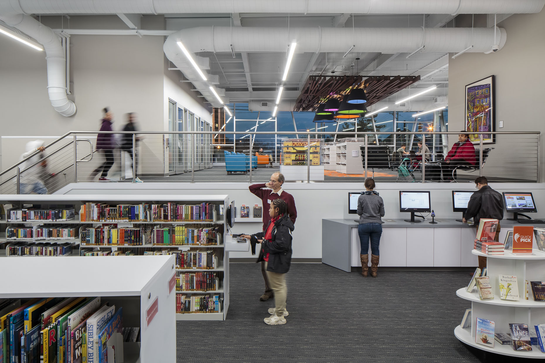 CML Martin Luther King Jr Branch by Moody Nolan & Turner Construction photographed by Lauren K Davis based in Columbus, Ohio