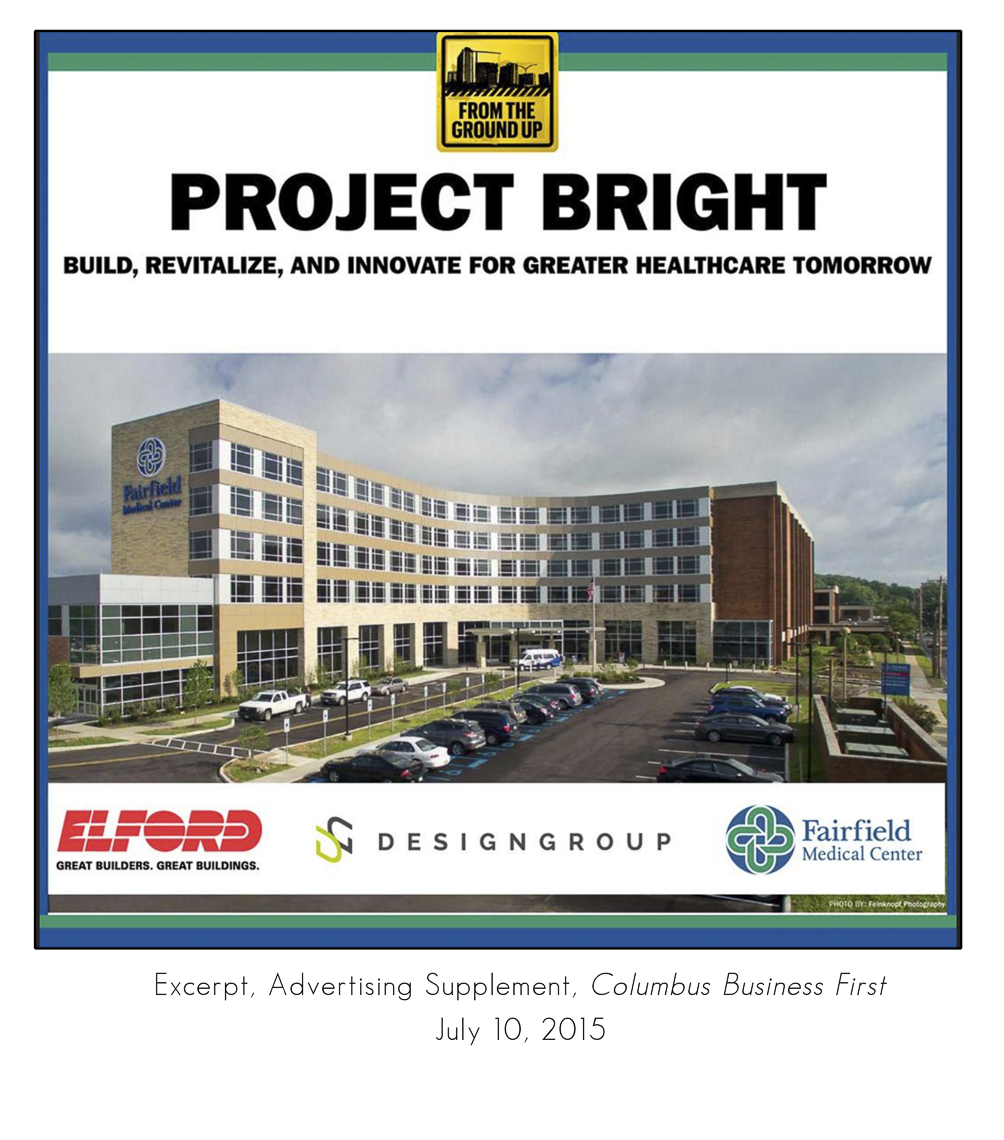 Columbus Business First July 2015 Fairfield Medical Center Inpatient Surgical Tower